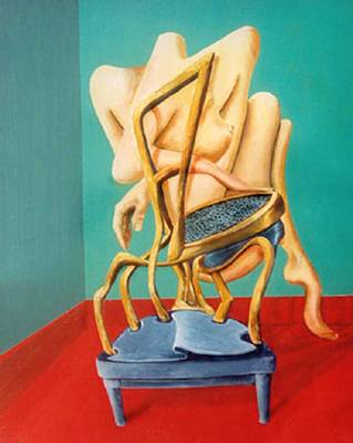 Painting - Chair Person by George Flay