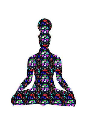 Photograph - Chakra Yoga Mandala  Buy Faa Print Products Or Down Load For Self Printing Navin Joshi Rights Manage by Navin Joshi