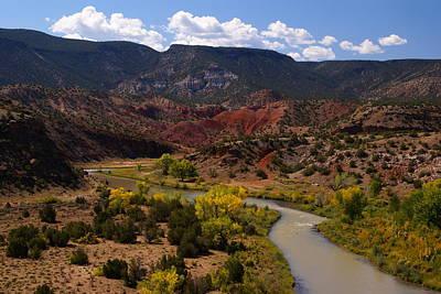 Photograph - Chama River by Robert Lozen