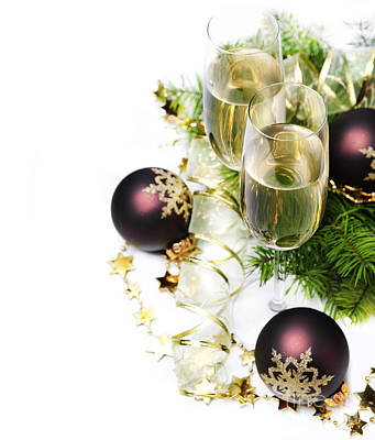 Food And Beverage Royalty-Free and Rights-Managed Images - Champagne by Jelena Jovanovic