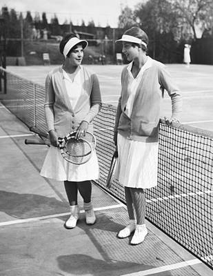 Women Tennis Photograph - Champion Helen Wills Moody by Underwood Archives