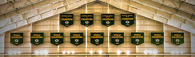 Photograph - Championship Banners by James  Meyer