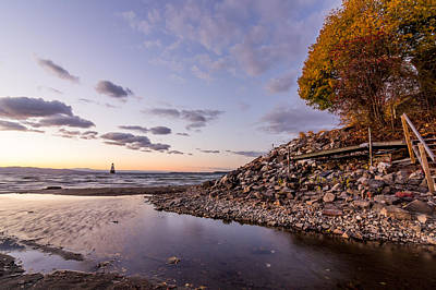 Photograph - Champlain Twilight by Jeremy Farnsworth