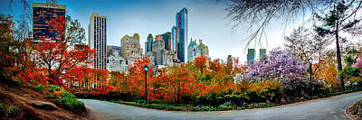Manhattan Photograph - Changing Of The Seasons by Az Jackson