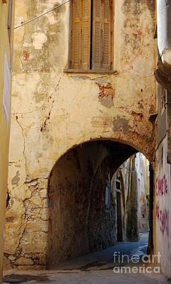 Chania Photograph - Chania Alley by Antony McAulay