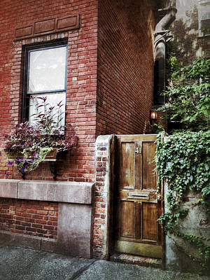 Greenwich Village Digital Art - Charismatic Commerce Street by Natasha Marco