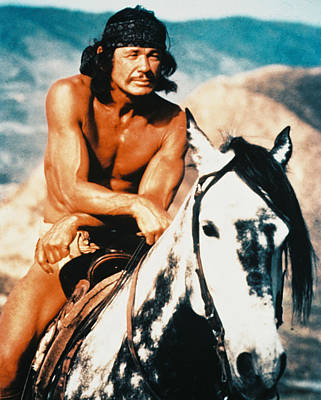 Movies Photograph - Charles Bronson In Chato's Land  by Silver Screen