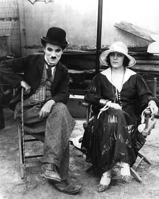 Chaplin Photograph - Charles Chaplin by Silver Screen
