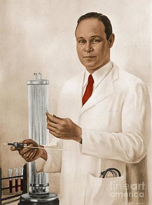 Charles R. Drew Art Print by Science Source