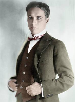 Charles Spencer Chaplin (1889-1977) Art Print by Granger