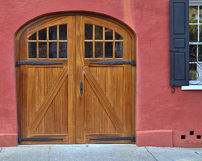 Photograph - Charleston Doors by Allen Beatty