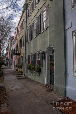 Photograph - Charleston Row by Dale Powell