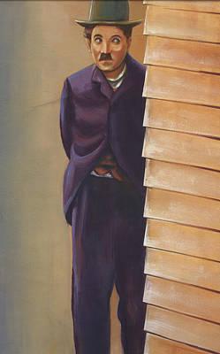 Mixed Media - Charlie Chaplin by Prakash Leuva