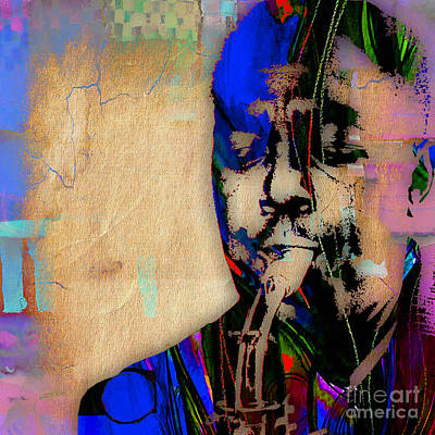 Saxaphone Mixed Media - Charlie Parker Collection by Marvin Blaine