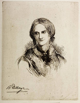 Charlotte Photograph - Charlotte Bronte by British Library