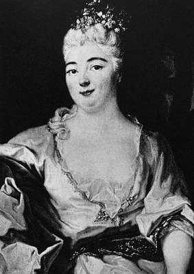 Charlotte Elizabeth (1652-1722) Art Print by Granger