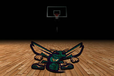 Charlotte Hornets Art Print by Joe Hamilton