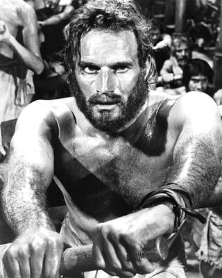1950 Movies Photograph - Charlton Heston In Ben-hur  by Silver Screen