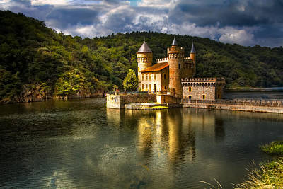 Fantasy Photograph - Chateau De La Roche by Debra and Dave Vanderlaan