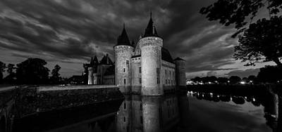 Photograph - Chateau De Sully At Sully-sur-loire by Charles Lupica
