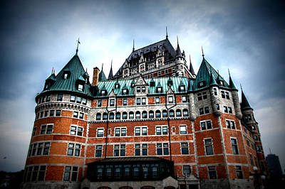 Photograph - Chateau Frontenac by Bill Howard