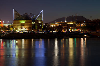 Photograph - Chattanooga At Night by Melinda Fawver