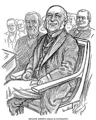 Chauncey Painting - Chauncey Depew (1834-1928) by Granger