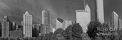 Sky Line Photograph - Chciago Skyline by Twenty Two North Photography