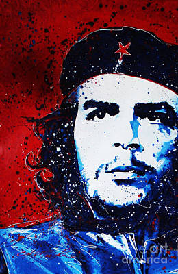 Painting - Che by Chris Mackie
