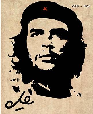 Che Guevara Art Print by T Lang