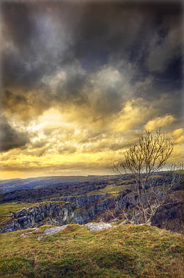 Twisty Photograph - Cheddar Gorge by Matthew Gibson