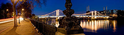 Chelsea Photograph - Chelsea Bridge With Battersea Power by Panoramic Images