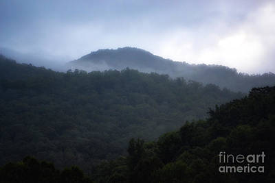 Cherokee Mountains Art Print