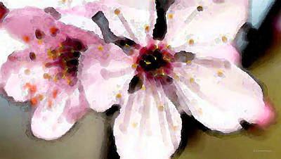 Painting - Cherry Blossoms By Sharon Cummings by William Patrick