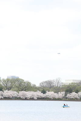 Basin Photograph - Cherry Blossoms - Washington Dc - 011320 by DC Photographer