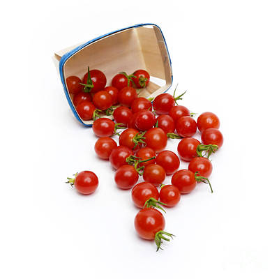 Large Group Of Objects Photograph - Cherry Tomatoes by Bernard Jaubert