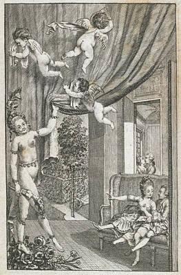 Cherub Photograph - Cherubs by British Library