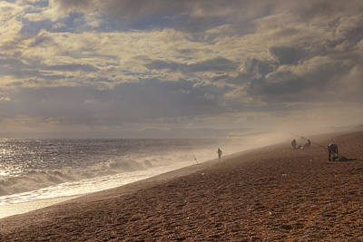 Chesil Beach Art Print by Joana Kruse