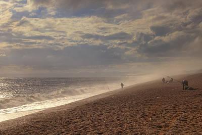 Haze Photograph - Chesil Beach by Joana Kruse