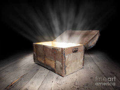Treasure Box Photograph - Chest Of Treasure by Sinisa Botas