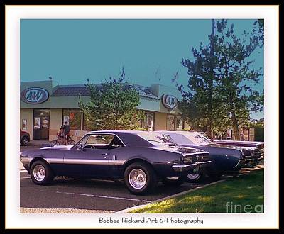 Classic Cars Digital Art - Chevy Love by Bobbee Rickard