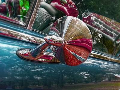 Drag Digital Art - Chevy Super Sport by Linda Unger