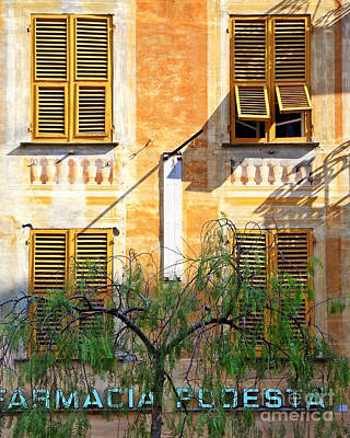 Chiavari Windows Art Print