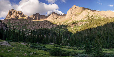 Photograph - Chicago Basin  by Aaron Spong