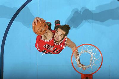 Photograph - Chicago Bulls V Oklahoma City Thunder by Layne Murdoch Jr.