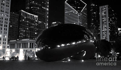 Photograph - Chicago Cloud Gate by Gregory Dyer
