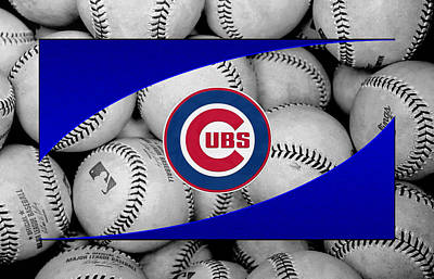 Chicago Cubs Art Print by Joe Hamilton