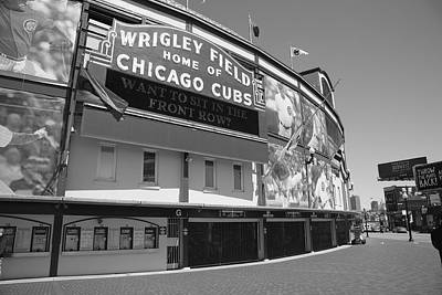 Chicago Cubs - Wrigley Field 17 Art Print by Frank Romeo