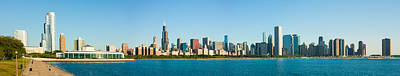Photograph - Chicago Lake Front by Semmick Photo