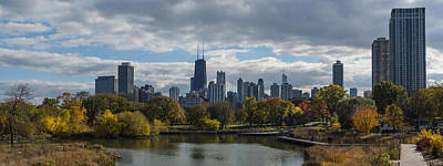 Chicago Lincoln Park Original by Patrick  Warneka